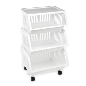 Three Tier Mobile Cart